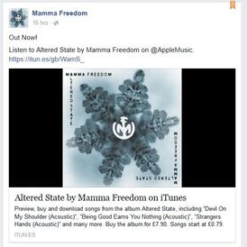 Mamma Freedom Altered State album